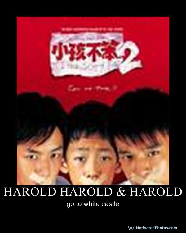 Harold Harold Harold