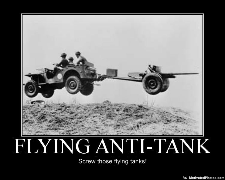 Flying Anti-Tank