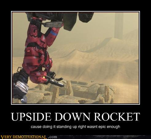 Upside Down Rocket