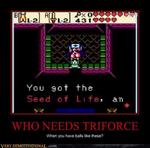 Who Needs Triforce