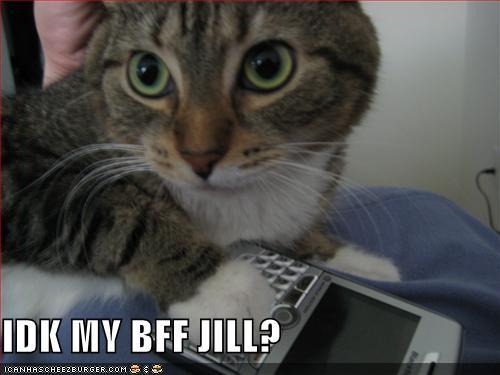IDK MY BFF JILL?
