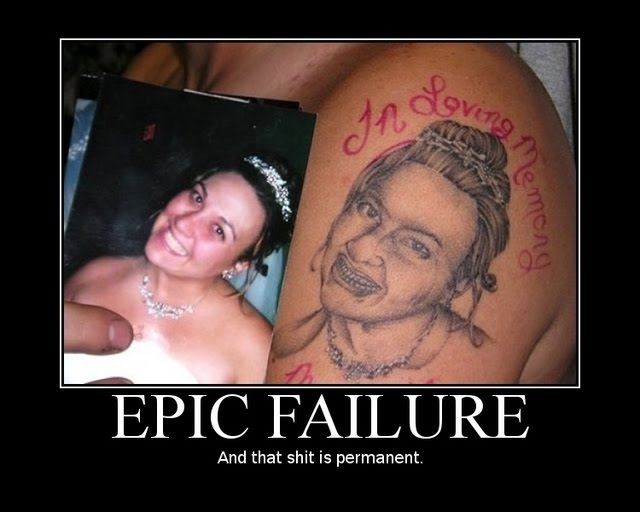Epic Failure - Motivational Poster
