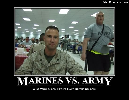 Marines Vs. Army