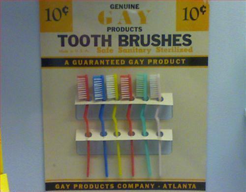 Tooth Brushes Guaranteed Gay Product
