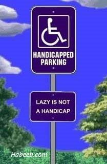 Lazy is not a Handicap