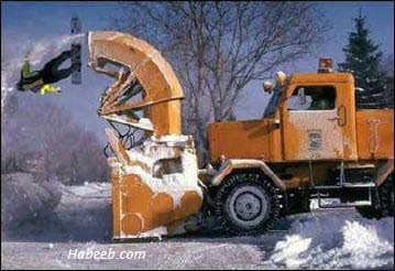 Looks Fun Snow Blower