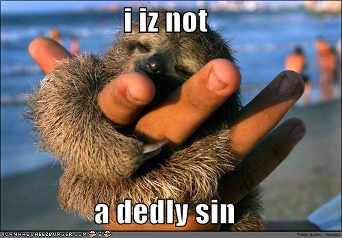 i iz not a dedly sin