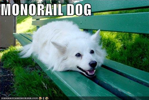 MONORAIL DOG