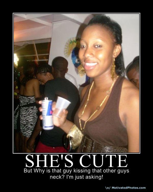 SHE'S  CUTE