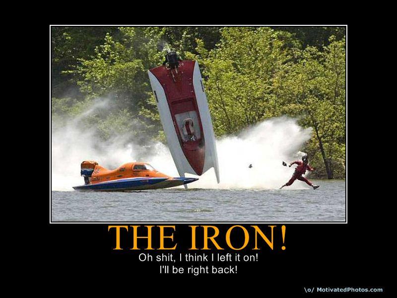 THE  IRON!