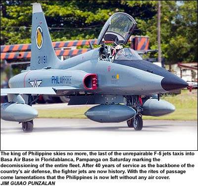 Images of Philippine Airforce F-5 Jet Fighter