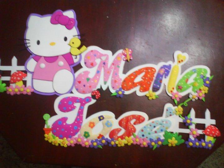 Arte en Foami: Hello Kitty