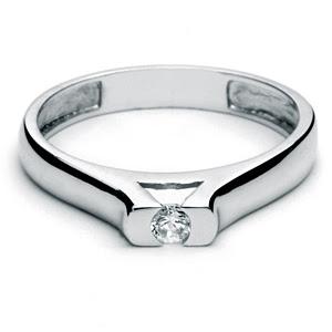 Anillo De Compromiso Oro Blanco Joyería MercadoLibre  - fotos anillos de compromiso oro blanco