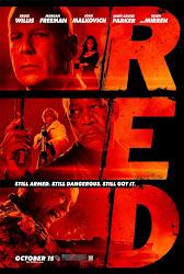 RED: Retirados Extremadamente Duros Poster