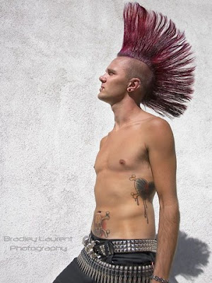 crazy guy hairstyles