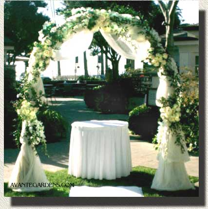 Wedding decoration wedding arches for Arches decoration ideas