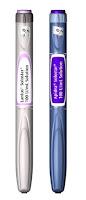 Caneta descartável para aplicação de insulina Lantus e Apidra