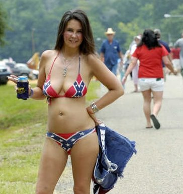 Redneck american flag