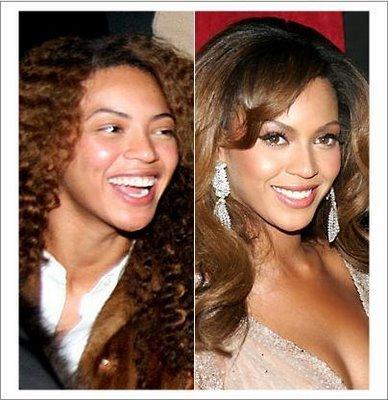 Cantora Beyonce SEM MAQUIAGEM