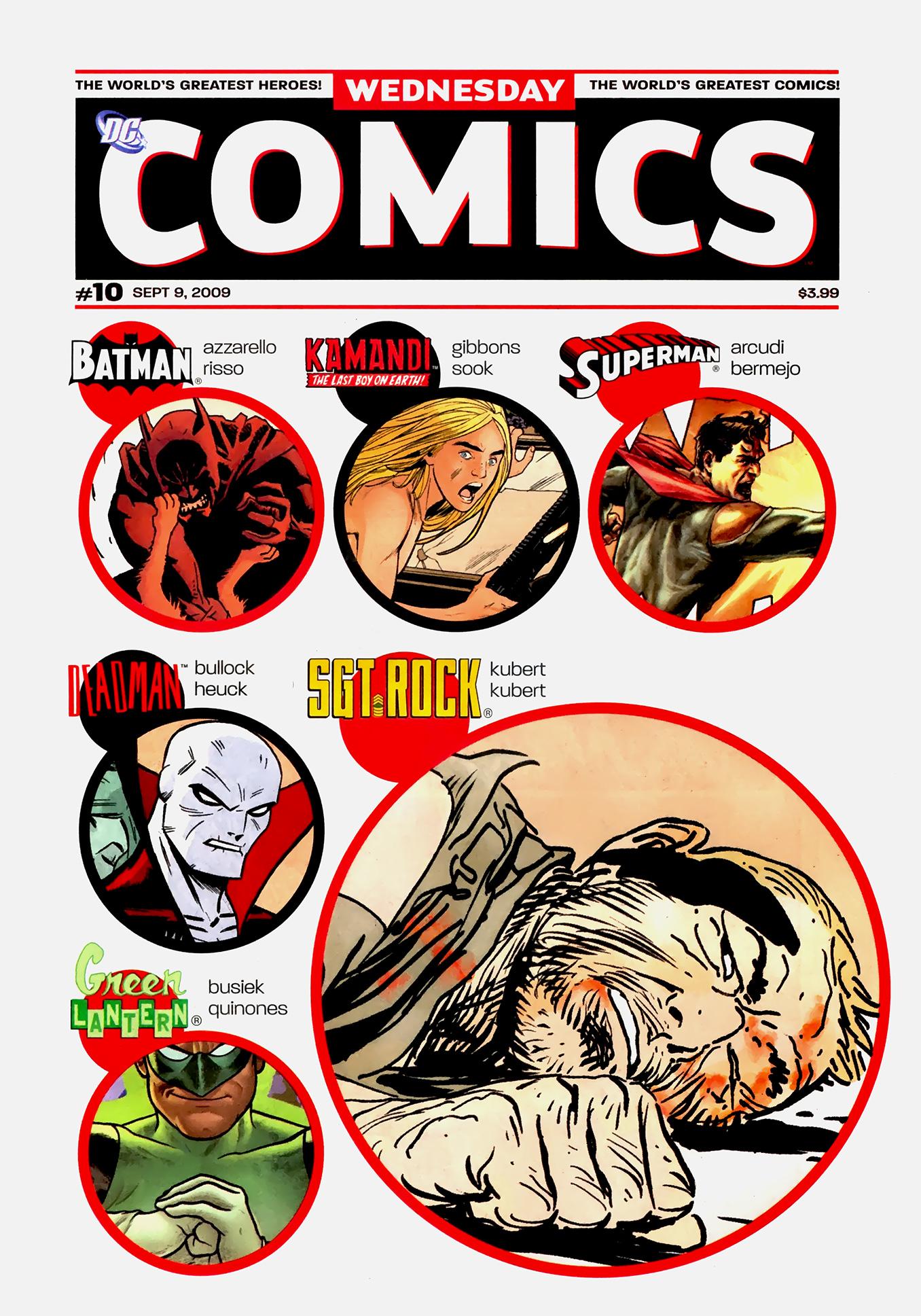 Read online Wednesday Comics comic -  Issue #10 - 1