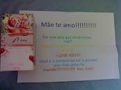 Presente e carta de minha filha