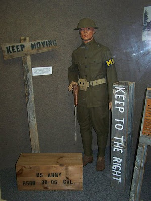 U.S. Army Military Police Corps Regimental Museum Exhibit