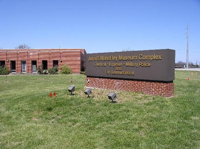 John B. Mahaffey Museum Complex, located at 495 South Dakota Avenue, Fort Leonard Wood