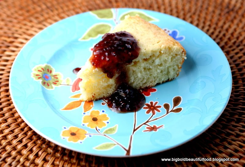 Lime Yogurt Cake With Blackberry Sauce Recipes — Dishmaps