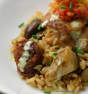 ... 2009 Challenge: Spanish Rice Dish (Chicken and Chorizo Variation