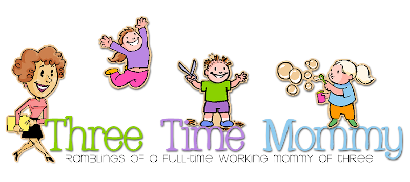 Three Times Mommy Blog Design