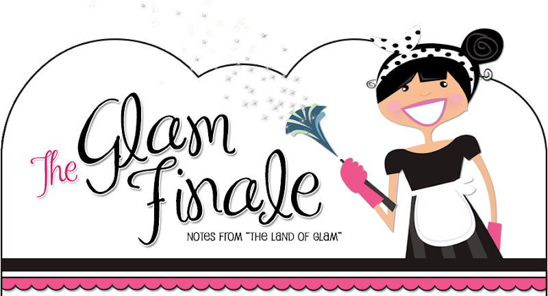 Glam Finale Blog Design
