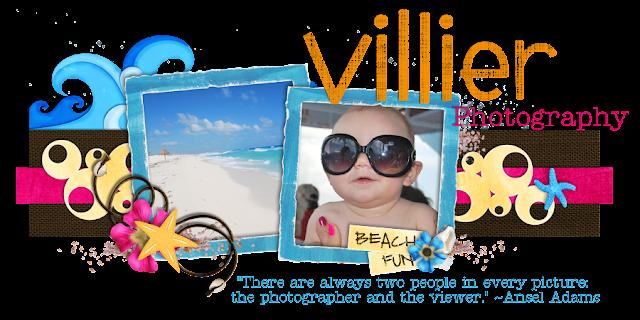 Villier Photography Blog Design