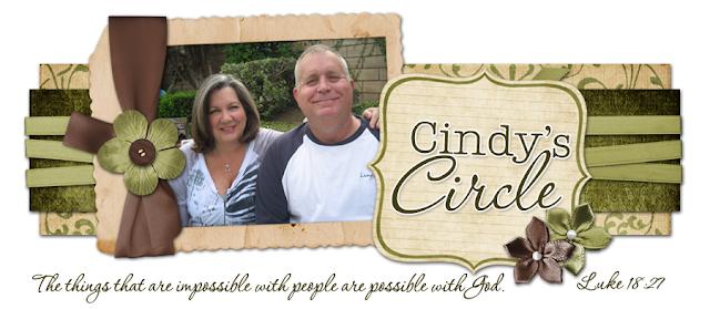 Cindy's Circle Blog Design