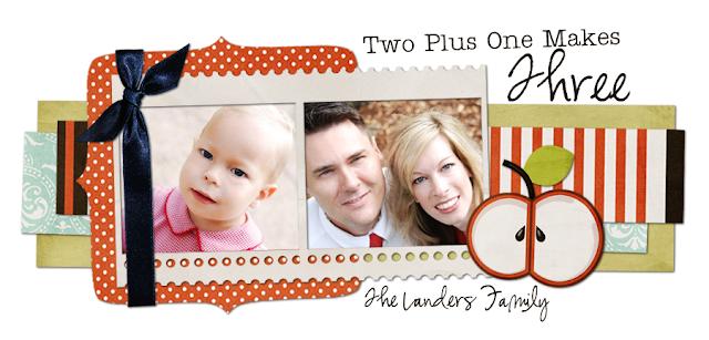 The Landers Family Blog Design