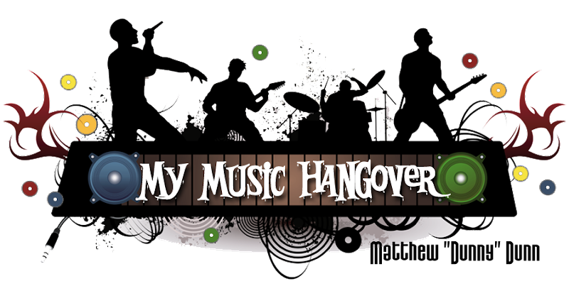 My Music Hangover Blog Design