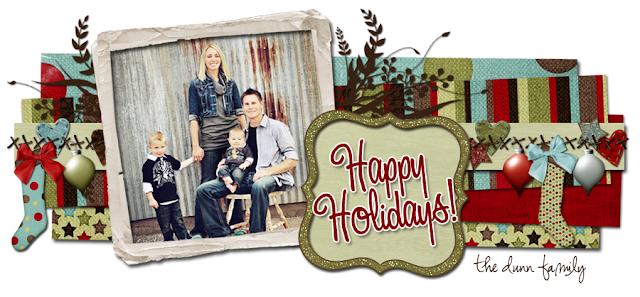 Happy Holidays Blog Design