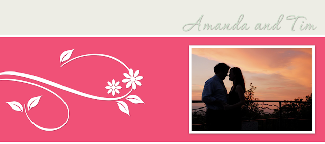 Amanda & Tim Blog Design
