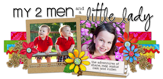Two Men and Little Lady Blog Design