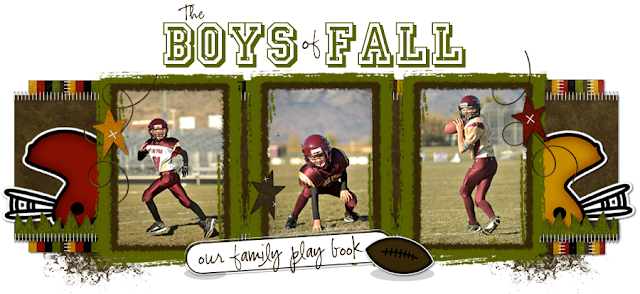 The Boys of Fall Blog Design