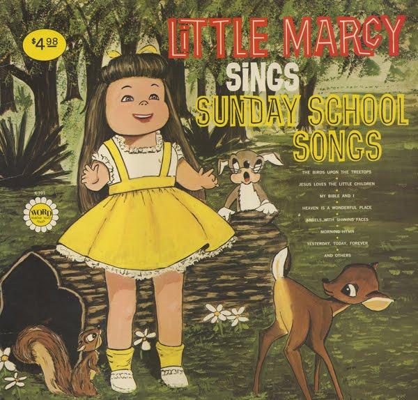 Amp ugly gospel record barn little marcy sings sunday school songs