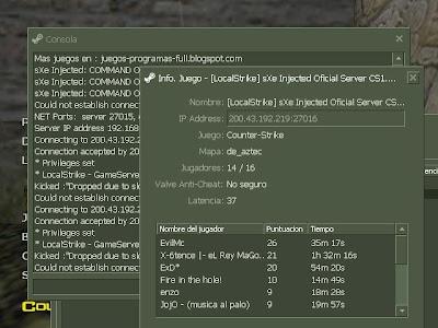 Counter Strike 1.6 V32 Online y LAN 4