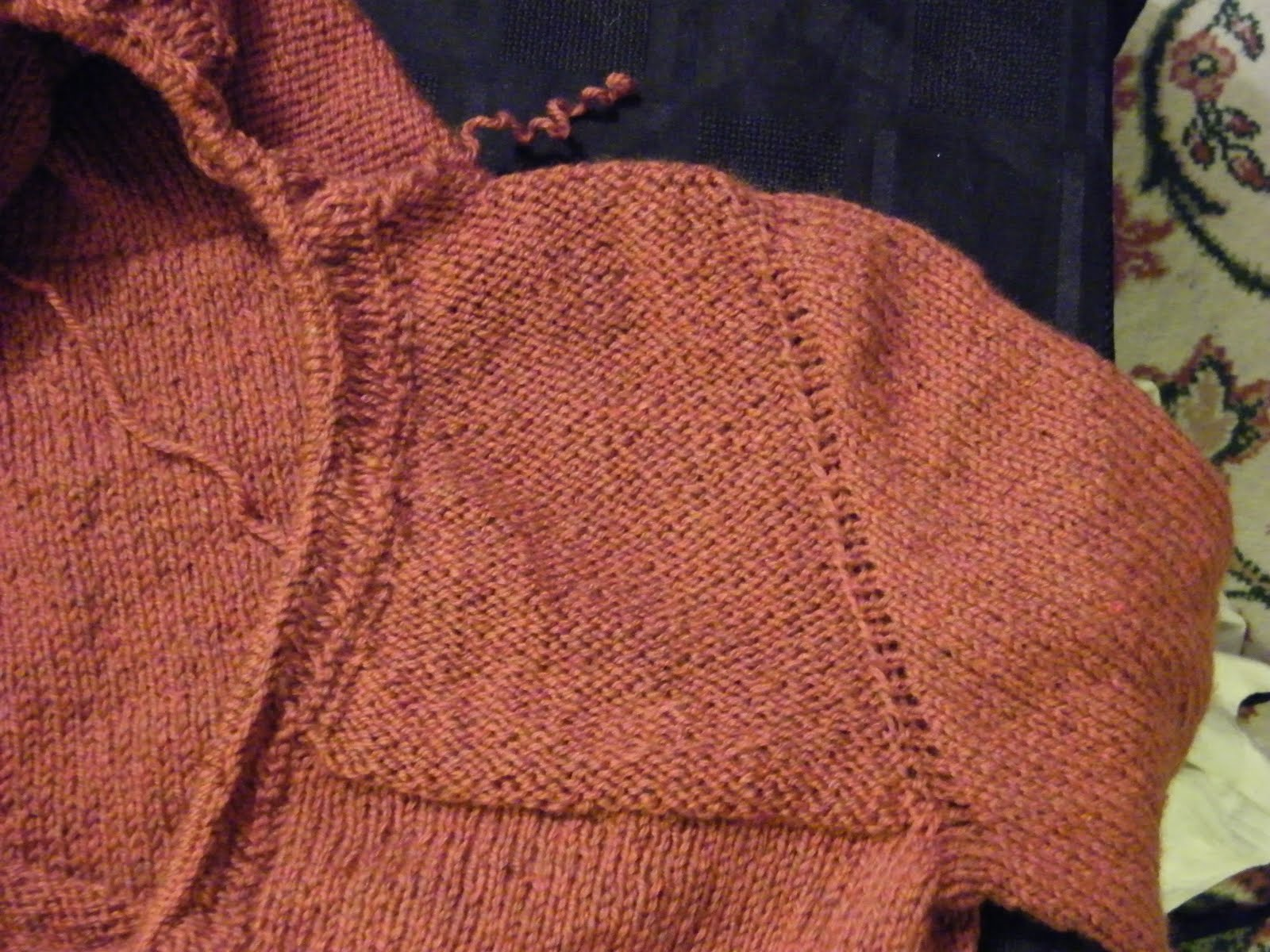 Knitting Picking Up Stitches Evenly : Yarndancer: Double Garter - The Devils Stitch?!?