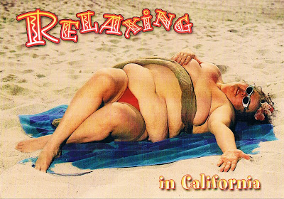Disturbing Postcard from Sissy