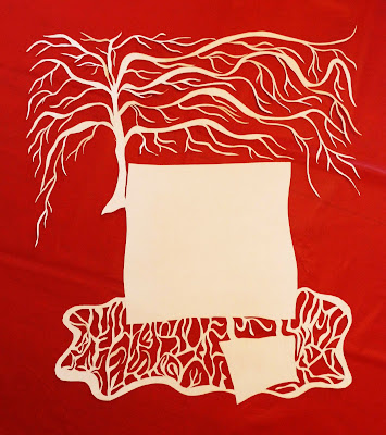 Tree Paper Cutting Stationery