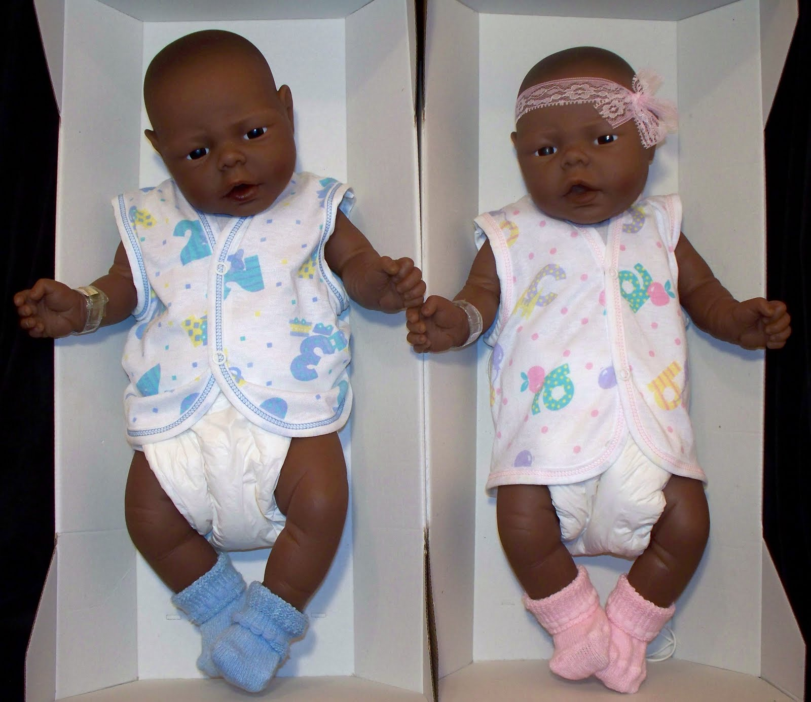 jesmar natiora 1998 anatomically correct boy and girl 19 inchesBlack Baby Twins Boy And Girl