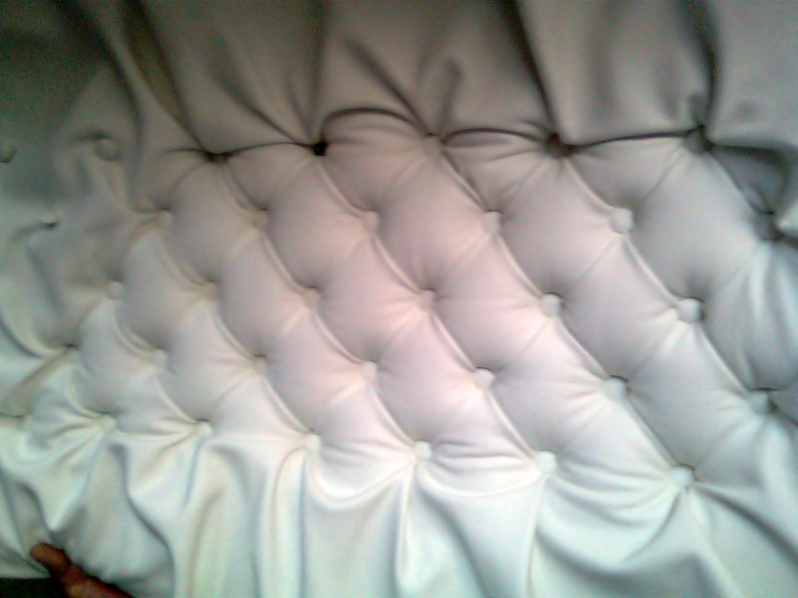 Tapizadoypunto tecnicas para hacer capiton - Como tapizar un cabecero de cama ...
