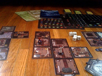 Betrayal at House on the HIll game in play