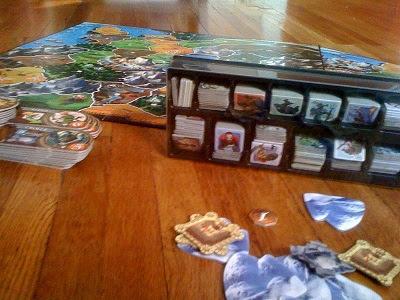 Smallworld board game or Small world if you prefer