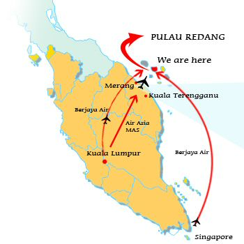TOURISM IN MSIA PULAU REDANG