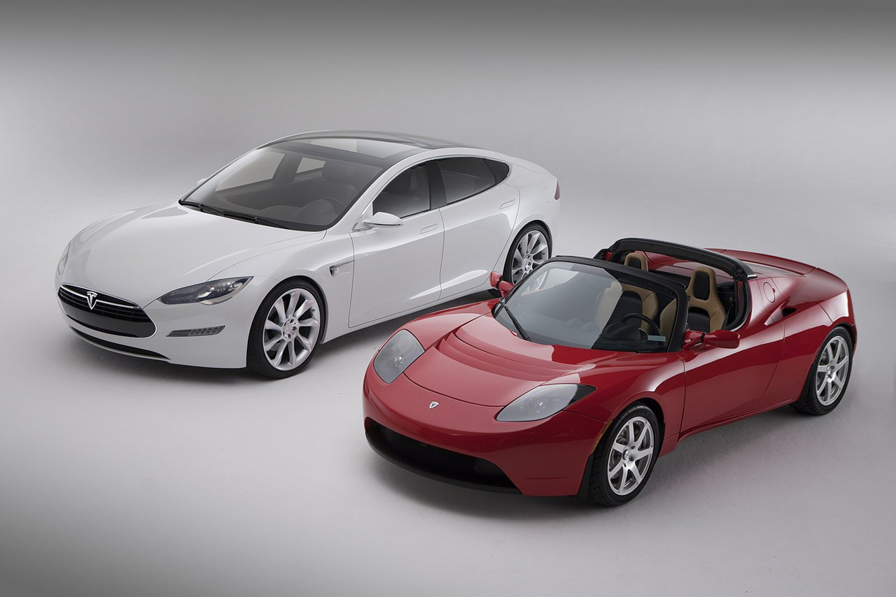 tesla motors electric cars are almost here. Black Bedroom Furniture Sets. Home Design Ideas